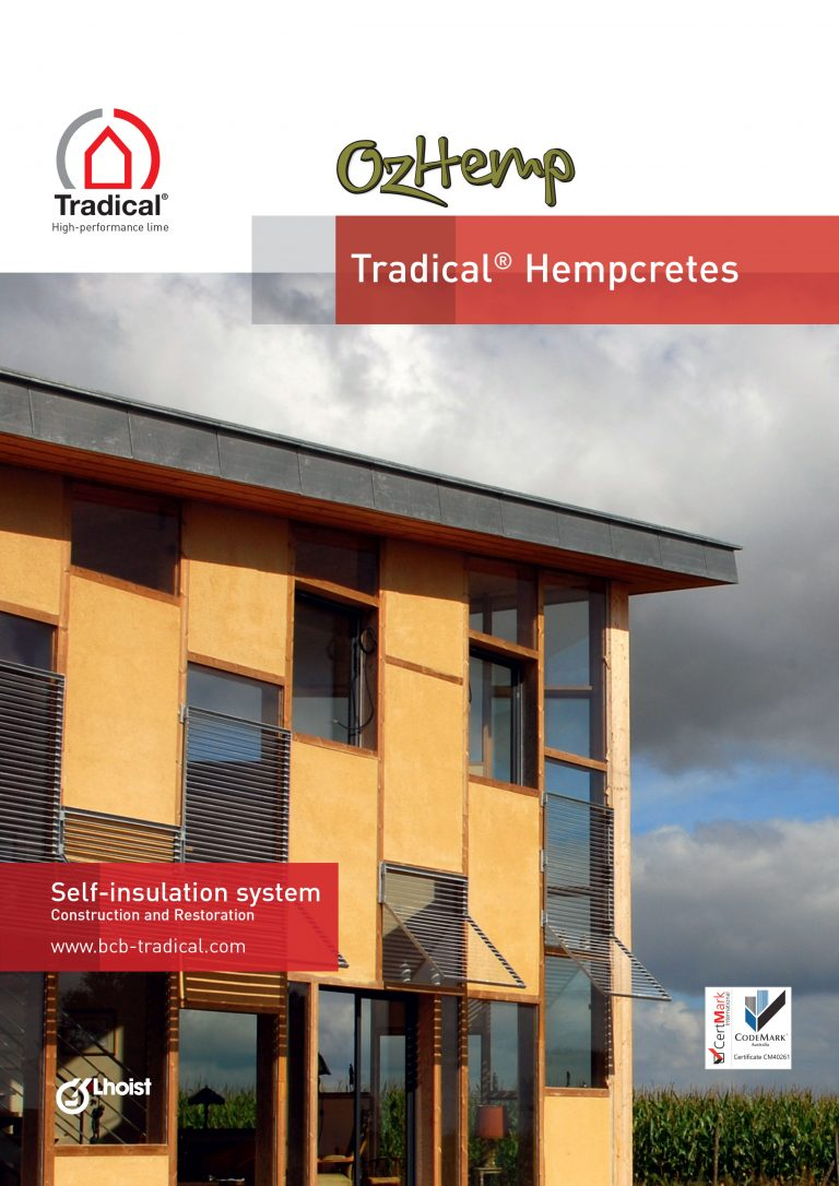 OzHemp Tradical Hempcrete Design & Installation Guide