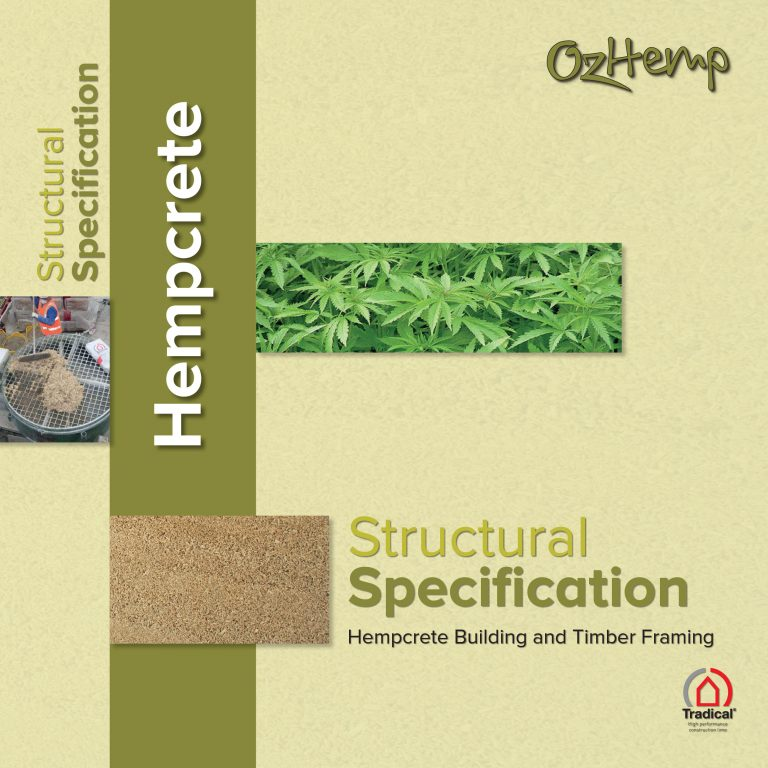 OzHemp Tradical Hempcrete Building Structural Specification