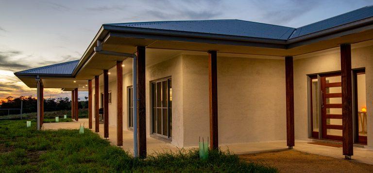 BCA Certified Tradical Hempcrete House in QLD