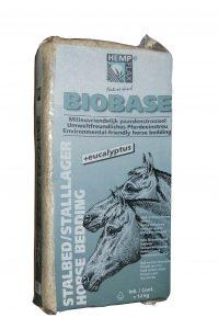 BioBase hemp bedding for horses with eucalyptus extract